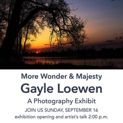 "Gayle Loewen, ""More Wonder & Majesty,"" 2018"