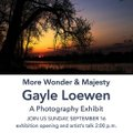 "Gayle Loewen, ""More Wonder & Majesty,"" 2018"