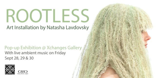 "Natasha Lavdovsky, ""Rootless,"" 2018"