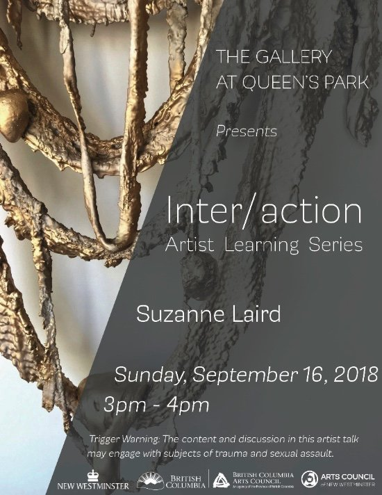 "Suzanne Laird, ""Inter/action Artist Learning Series, Artist Talk,"" 2018"