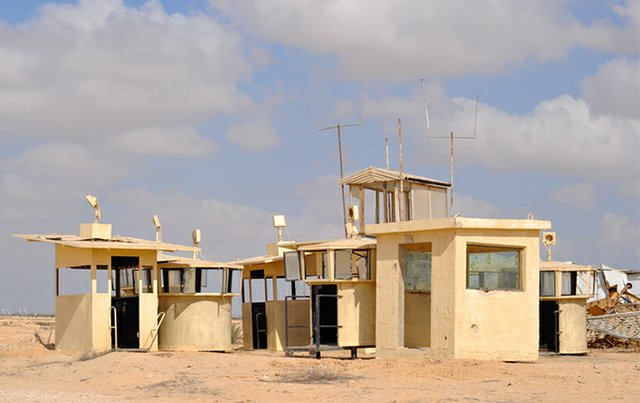 "Dick Averns, ""Retired Observation Posts (MFO North Camp, Sinai),"" 2009"