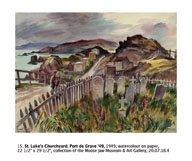 """""""St. Luke's Churchyard, Port de Grave"""""""