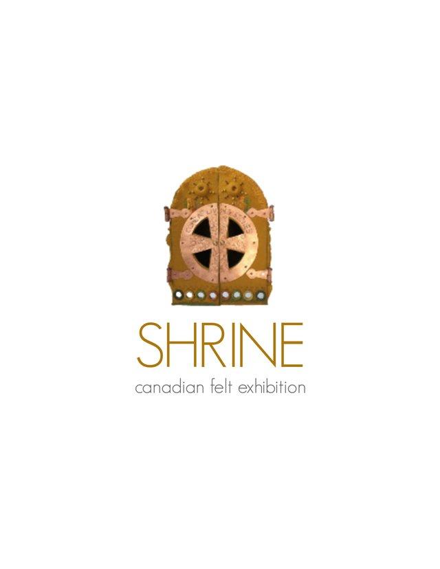 """Fiona Duthie, """"Shrine: Canadian Felt Exhibition,"""" 2018"""
