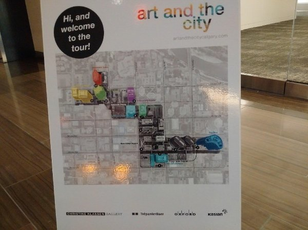 Art and the City tour map