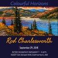 "West End Gallery, Edmonton,""Rod Charlesworth,"" 2018"
