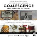 """MCML Heritage Gallery, """"Coalescence: Craft, Canadians and Culture,"""" 2018"""