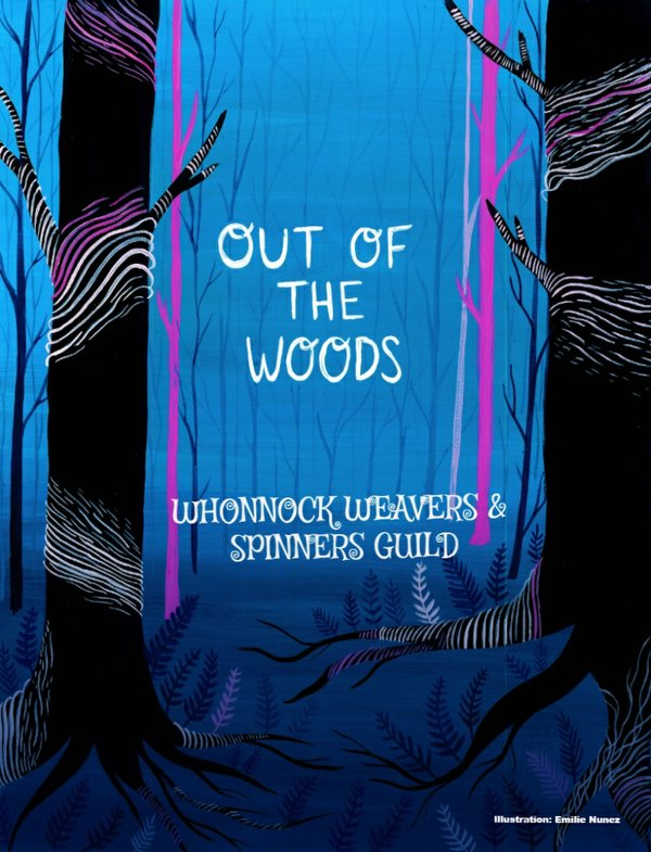 "The Whonnock Weavers and Spinners Guild, ""Out of the Woods,"" 2018"