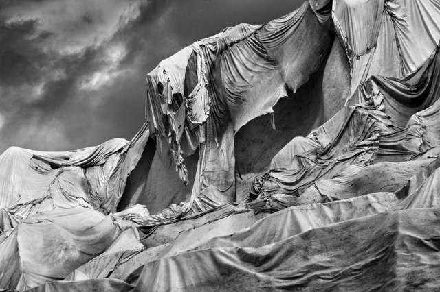 """Dawna Mueller, """"Forlorn (Rhone Glacier, Switzerland),"""" 2018"""