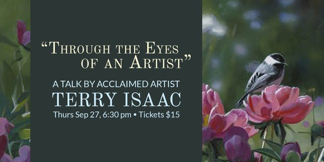 "Terry Isaac, ""Through the Eyes of an Artist,"" 2018"