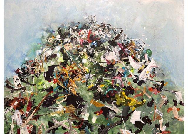 "Lori Golderg, ""Cacophony of Our Debris,"" 2018"