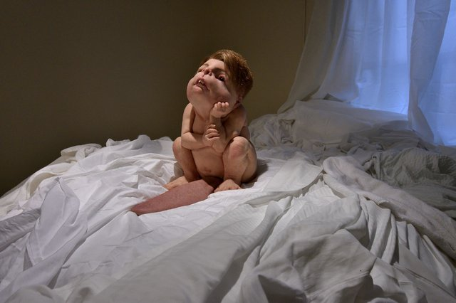 "Patricia Piccinini, ""The Builder,"" 2018"
