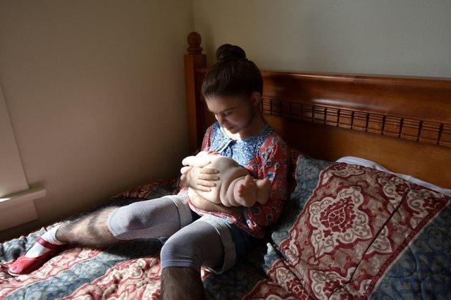 """Patricia Piccinini, """"The Comforter,"""" 2010"""