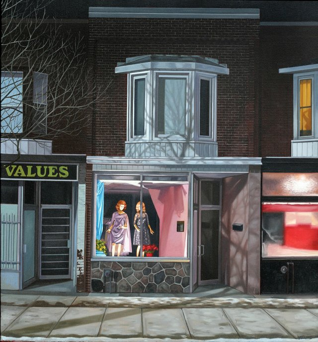 "Sean Yelland, ""Window Dressing,"" no date"
