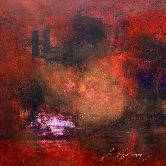 """Ludolf Grollé, """"As Far As My Eyes Can See,""""  2017"""