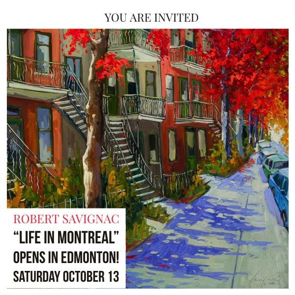"""Robert Savignac, """"Life in Montréal,"""" 2018"""