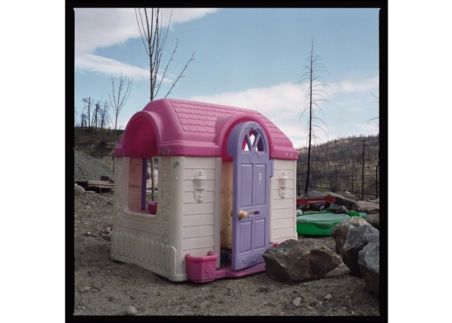 """Zev Tiefenbach, """"The Wildfire that Begat Suburbia #45,"""" 2007"""