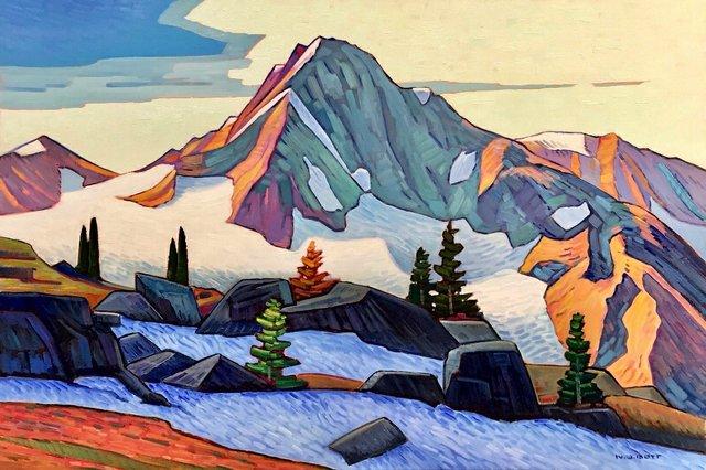 "Nicholas Bott, ""Central Coast Mountain,"" 2018"