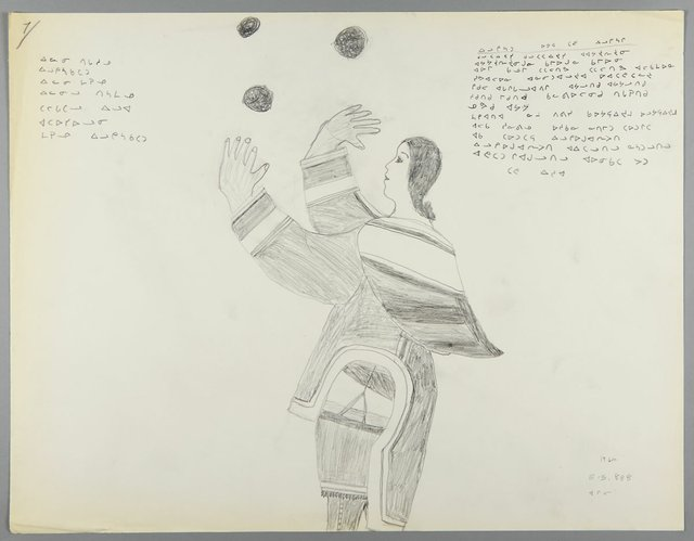 "Jemima Angelik Nutarak, ""Juggling Songs,"" 1964"
