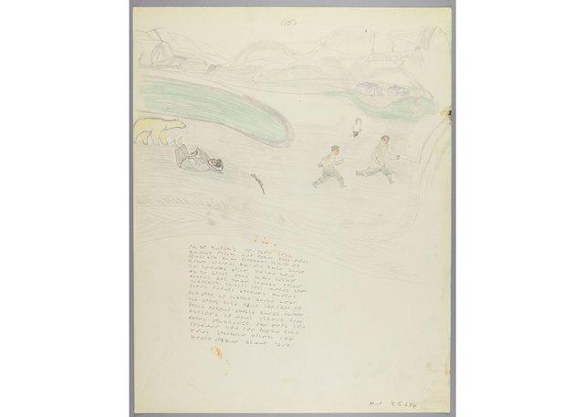 "Jacob Peterloosie, ""Tormenting a Polar Bear,"" 1964"