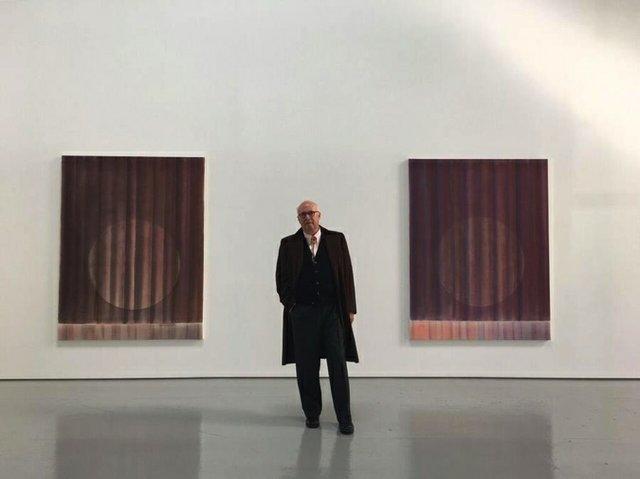 "Neil Wedman, ""Spotlights,"" 2018"