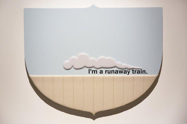 """Craig Le Blanc, """"Runaway Train,"""" 2016"""