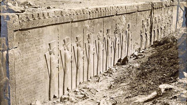 "Antonin Khan Sevruguin, ""Takht-e Jamshid (Persepolis),"" c. 1880"