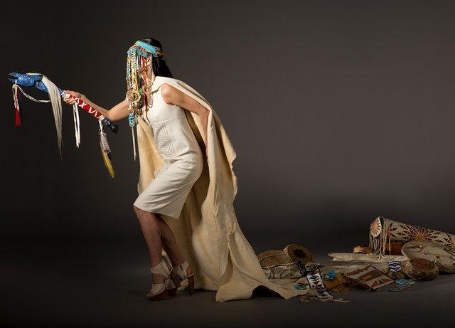 "Dana Claxton, ""Cultural Belongings,"" 2016"