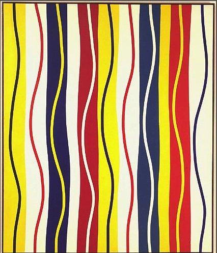 "Marcel Barbeau, ""Rétine optimiste ou Salute,"" 1964"