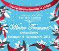 "Port Moody Arts Centre, ""Winter Treasures Artisan Market,"" 2018"