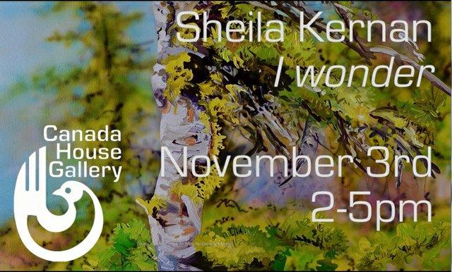 "Sheila Kernan, ""I wonder,"" 2018"