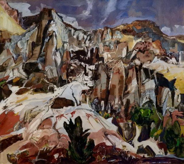 "David T. Alexander, ""Washout to Sentinels Left,"" 2016"