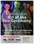 "Sharon Stone, ""Art of the Tea Ceremony,"" 2018"