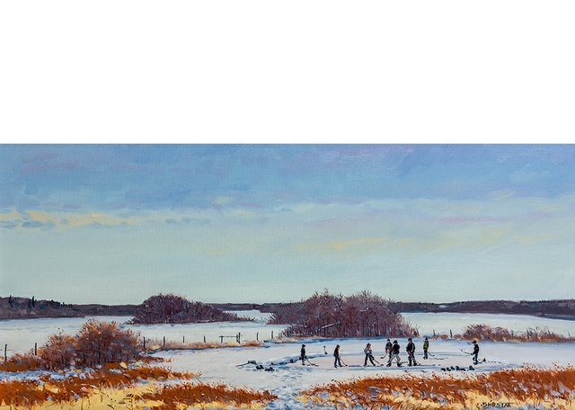 """Peter Shostak, """"The Ice is Starting to Melt,"""" no date"""