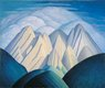 """Untitled (mountains near Jasper)"""