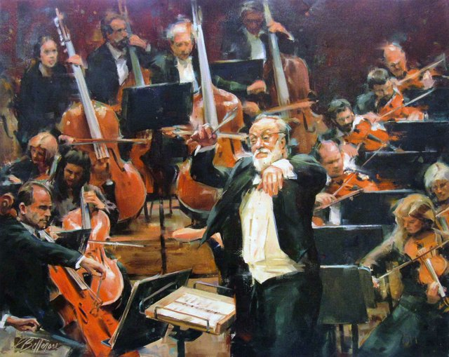 "Patricia Bellerose, ""The Passionate Conductor,"" 2018"