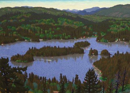 """""""View of Shawnigan Lake"""""""