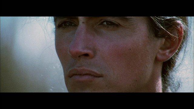 "Sarain Stump as Napoleon Royal in the film ""Alien Thunder,""1973"