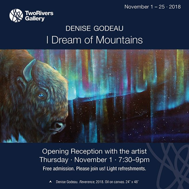 "Denise Godeau, ""I Dream of Mountains,"" 2018"