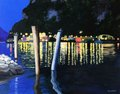 "Barbara Hirst, ""Night on a Northern Lake,"""