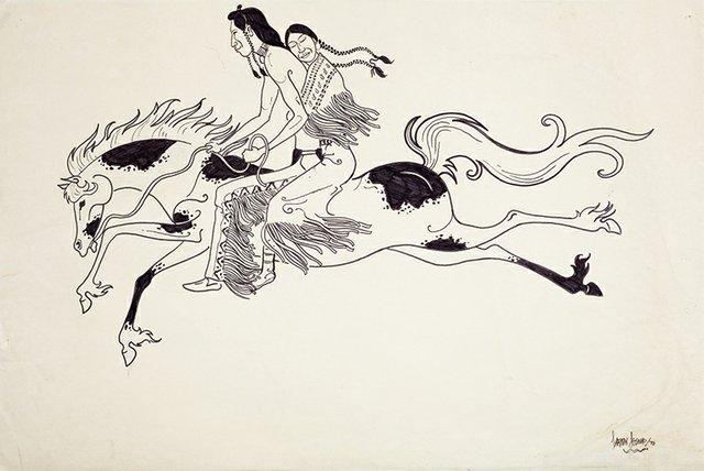 "Sarain Stump, ""Untitled,"" 1973"