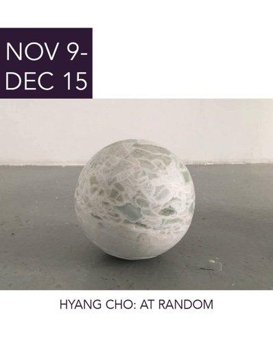 """Hyang Cho, """"At Random,"""" 2018"""