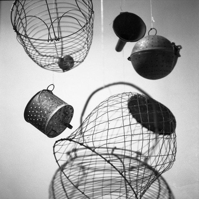 """Dianne Bos, """"Duchamp's Kitchen 3003,"""" 2018"""