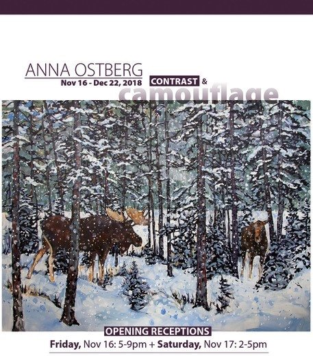Anna Ostberg: Contrast + Camouflage