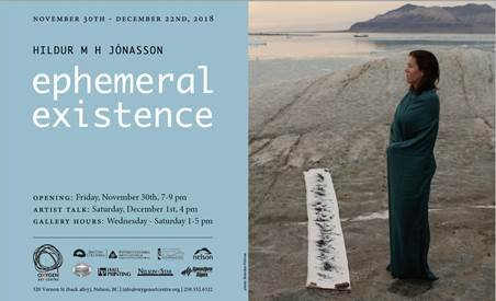 """Hildur Jónasson, """"Ephemeral Existence,"""" 2018"""