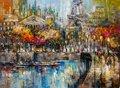"""Irena Gendelman, """"Along the Seine,"""" 2018"""