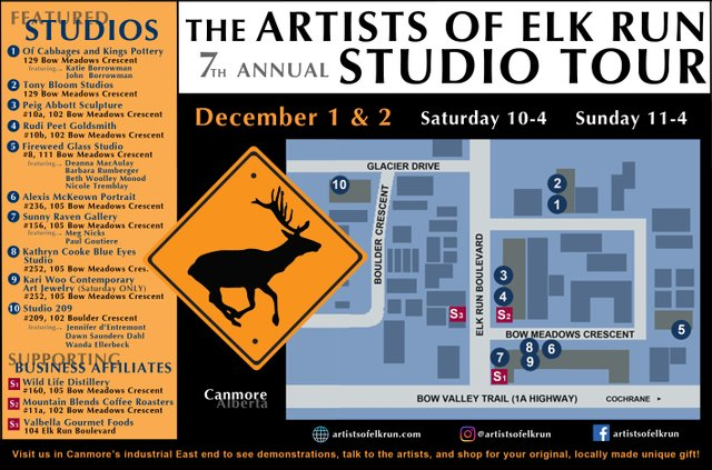 Artists of Elk Run 7th Annual Studio Tour, 2018