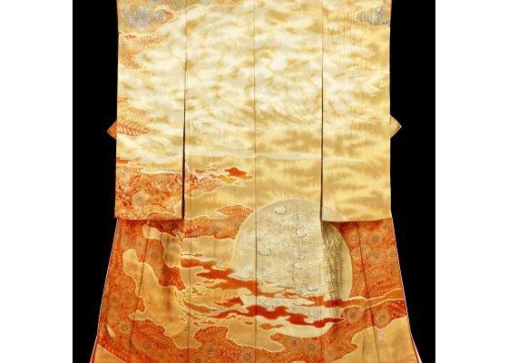 """Itchiku Kubota, """"San (Burning Sun),"""" (detail) 1986"""