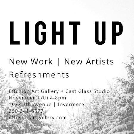 """effusion art gallery, """"Light Up,"""" 2018"""