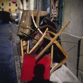 """Discarded Chairs Geneva (#1)"""