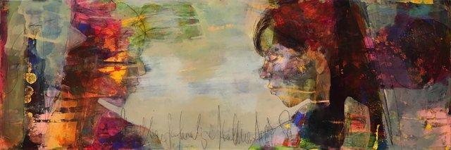"Jean Pederson, ""Reflections,"" 2018"